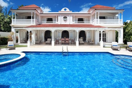 Beautiful home with pool in Lower Caleton - St-James - Holetown