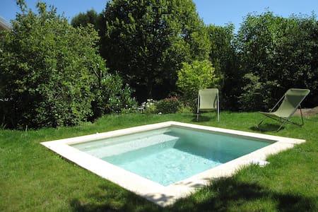 Chambre sur ravissant jardin - Bed & Breakfast