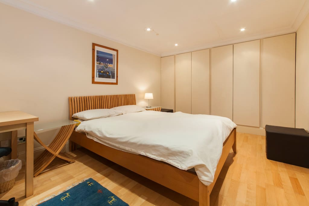 The Bedroom - Fitted Wardrobes in the background