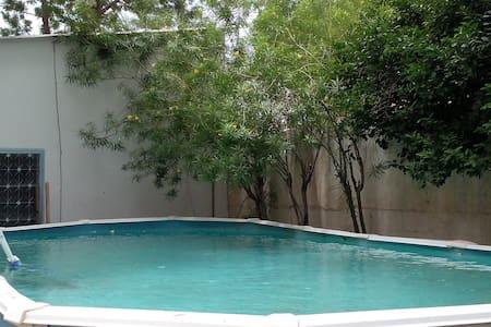 Chambre dans coloc avec piscine - 一軒家