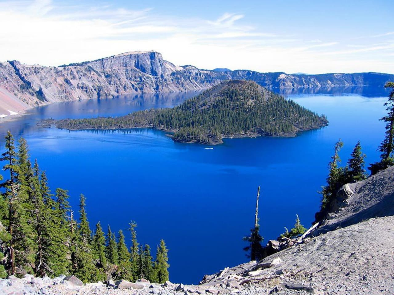 We are called the Gateway to Crater Lake. Rated #1 attraction world wide by CNN. August at Crater Lake National Park. Deepest lake in the US, 7th deepest in the world w/numerous hiking opps too.