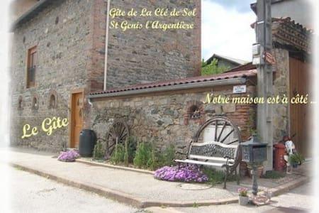 Gite  2/3 personnes - Saint-Genis-l'Argentière - Wohnung