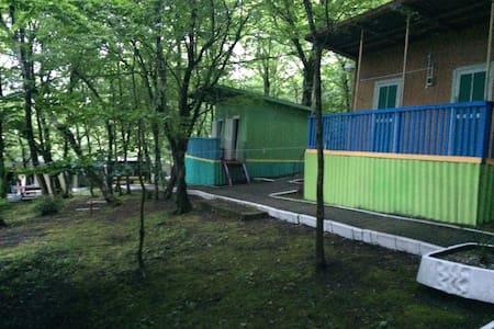 Дом в лесу в близи пляжа Бухты Инал Черного моря - House