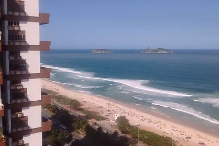 Quarto solteiro em frente a praia - Rio de Janeiro - Apartment