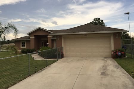 Super nice 1-2 bedroom quiet area - Lehigh Acres - Maison