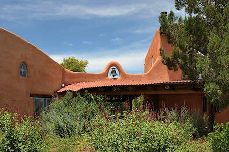 Adobe Charm on the Turquoise Trail