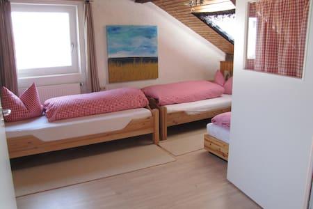 Gästehaus Huber - 4er Apartment - Hus