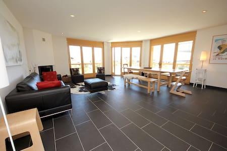 Appartement of 115m2 + Large Pool - Nendaz - Apartamento