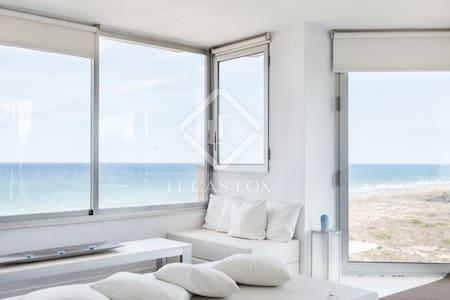 En primera línea de playa - Valência - Apartamento