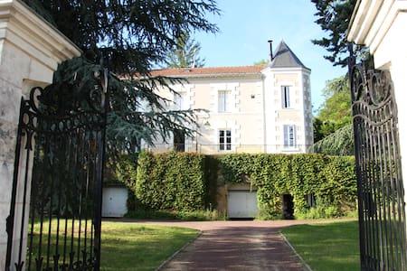 Grande chambre d'hôte dans maison de vigneron XIXe - Faverolles-sur-Cher - Pension
