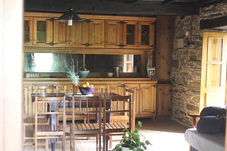 Casa de turismo rural en plena naturaleza A Niñada - Rumah