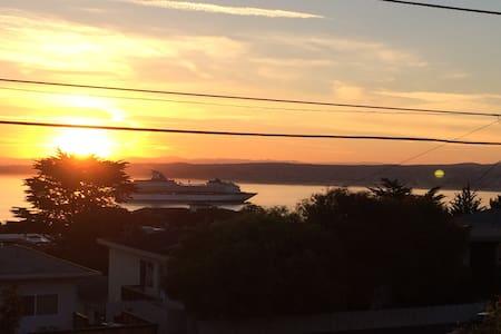 Sunrises over the Monterey Bay