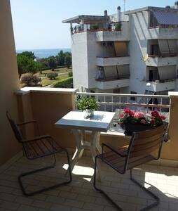 A nice apartment with an equipped kitchen,TV,2 double beds or 1 double bed and 2 single beds or 4 single beds depending to your needs. For families or friends or couples that are looking for a quite place. Lot of beautiful places to visit aroud it.