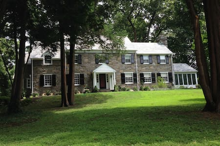 Spacious Family Home for Pope Visit - Bala Cynwyd - Haus