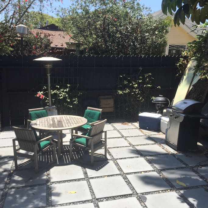 Patio Table and Grill