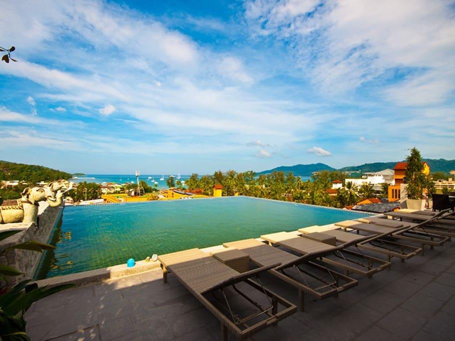 Swimming Pool Top Floor