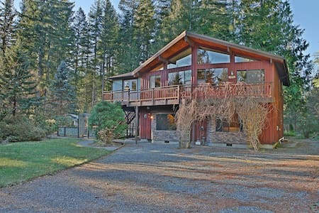 Mountain Rose Lodge - Skykomish River - Gold Bar - Casa