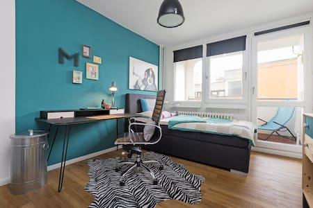 Urban living! Balcony! (Kotti 1) - Berlin - Apartment