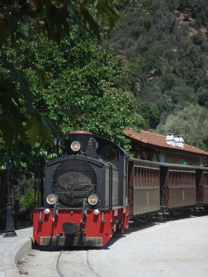 The heritage train of Pelion