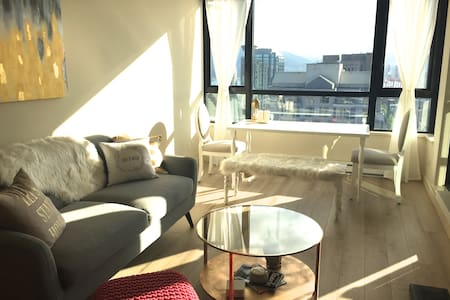 Brand New, very clean condo with amazing view. Best location in downtown Vancouver. Great Amenities. Beautifully designed with all new furniture. Perfect romantic get away! View of entire city. Clean and Fresh, it is a MUST SEE