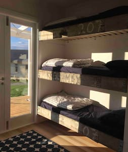 Comfortable bunk bed at The Pear Orchard Lodge - Makuusali
