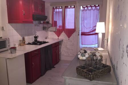 Appartement cosy RDC maison village
