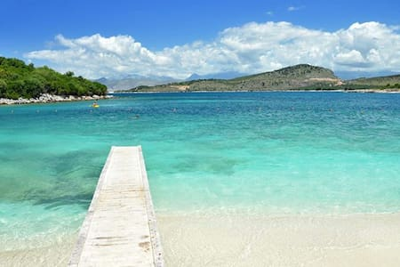 Perfect Flat Easy Vacation 40m Sea - Ksamil