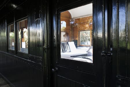 Steam: Train Carriage in the Otways