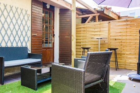 Studio sur terrasse - Appartement