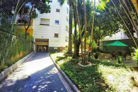 Quarto grande e aconchegante para dois no Flamengo - Lägenhet