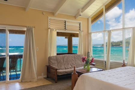 Wainiha Beach Front Retreat-Upstair
