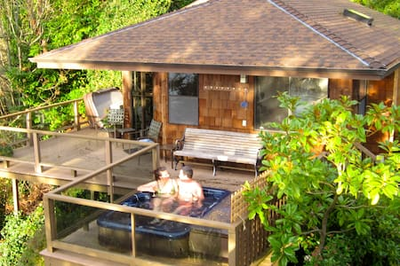 Soundview Cottage - a private retreat all your own - Seattle - Blockhütte