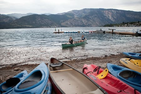 Lake Chelan Waterfront Condo - Apartamento