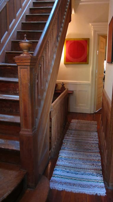 entrance hall; stairs to room