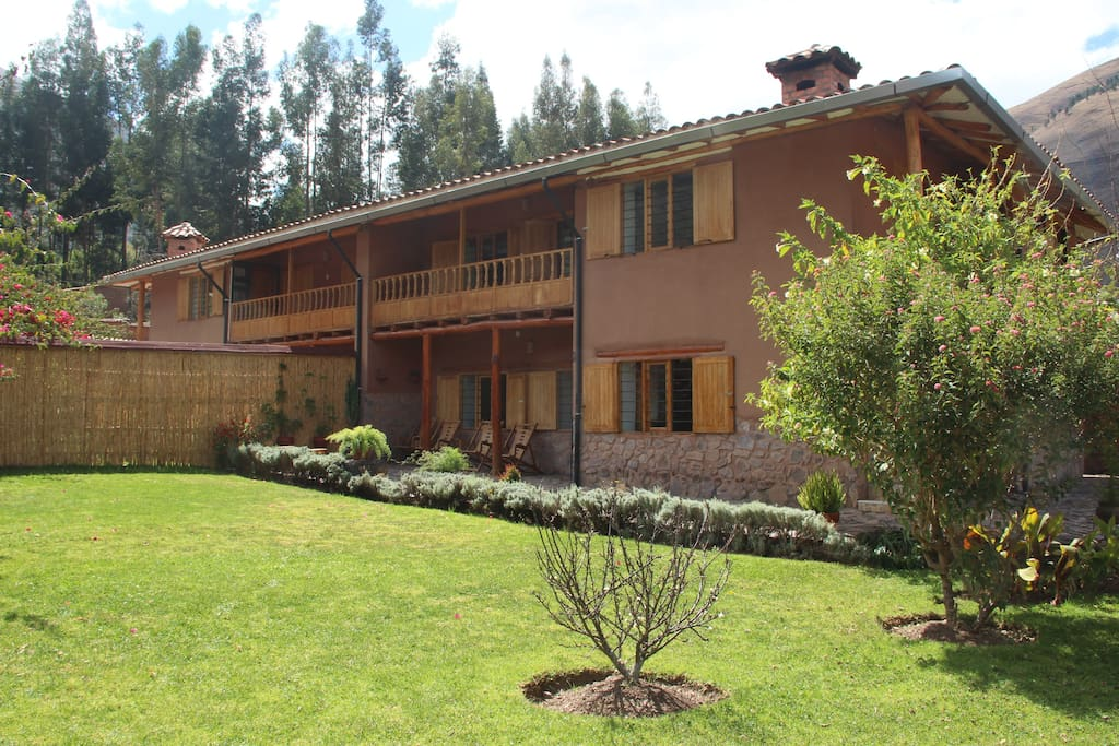 House in the sacred valley