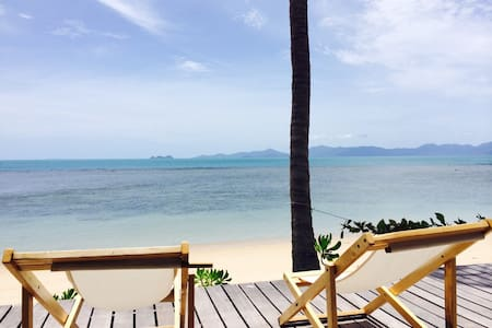 Sea Breeze bungalow with sea view - Ko Samui - Bungalow