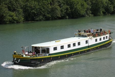 Luxury hotel barge central Maastricht - 10 guests - Maastricht - Boat