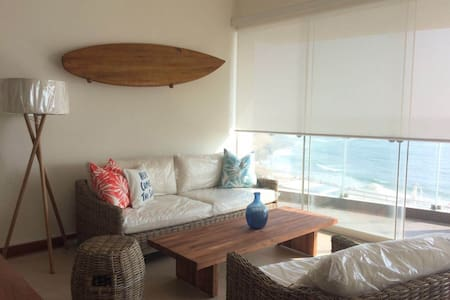 Beautiful beachfront apartment - Punta Hermosa - Lakás