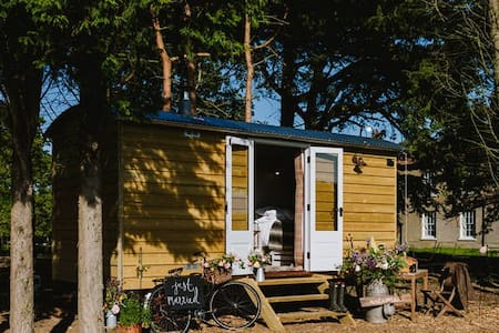 Godwick Shepherds Hut - The Ryeland Retreat - Barraca