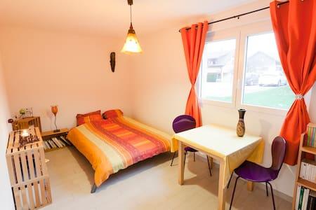 Belle chambre d'amis au centre du canton de Vaud. - Montilliez
