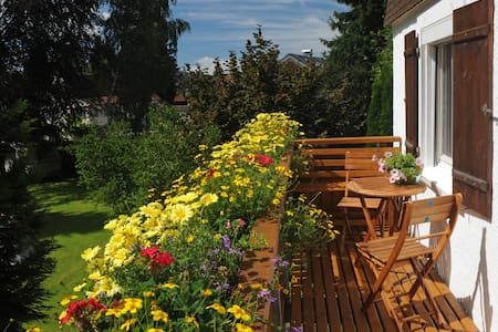 Zentrale Ferienwohnung im Ort Weiler - Weiler-Simmerberg - Apartamento