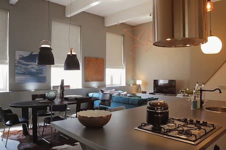 Mer du Midi loft- North Sea design - Vindsvåning