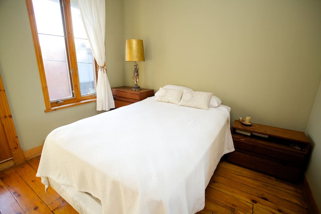 Main bedroom with very comfy double bed.