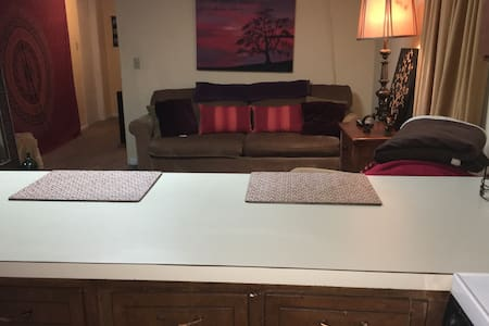 Basement apt w/ separate entrnce,driveway n patio - Appartement
