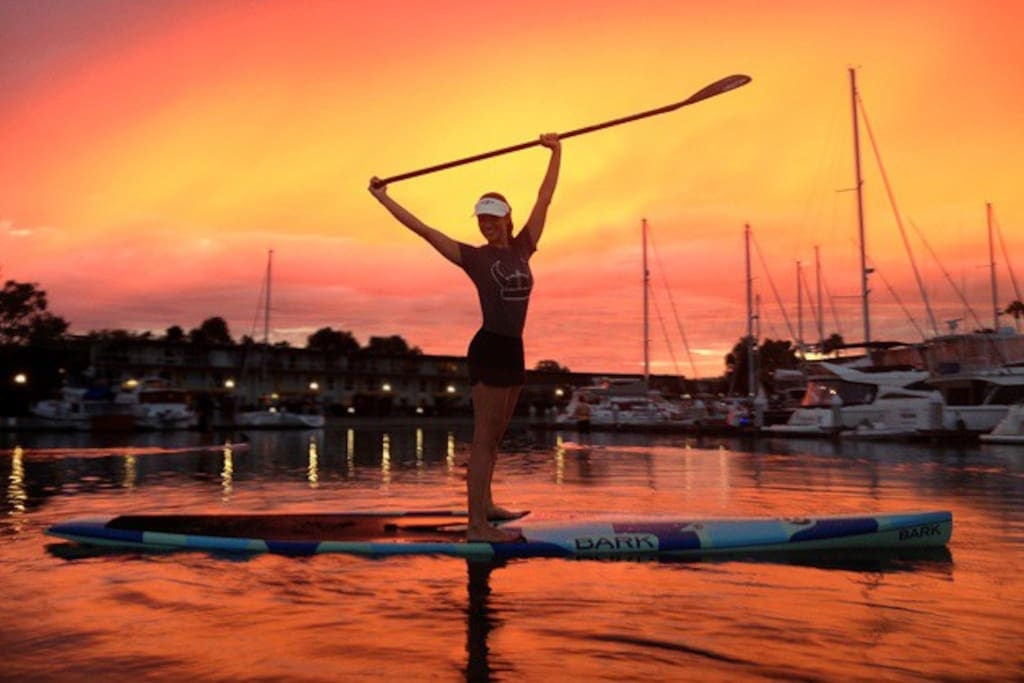 Year round paddle boarding