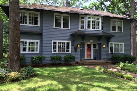 Historic home on tree-lined street - Anderson - Haus