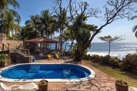 El Zonte Villa, Pool, Wave View - La Libertad