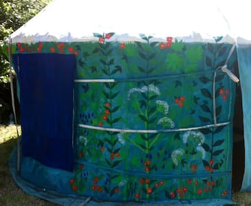 sweet yurt for two, 30 mins Dinan - Saint-Maden