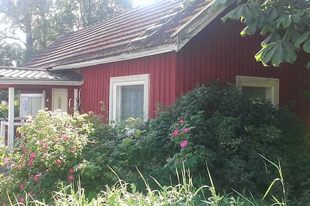Cute cottage in Hämeenlinna - Blockhütte