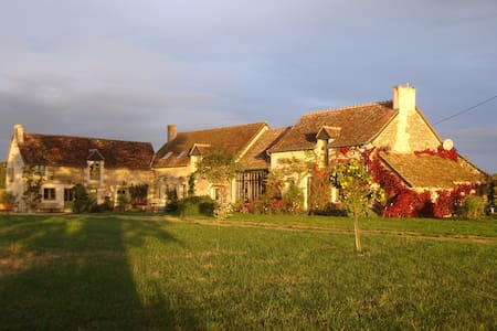 A Charming cottage next to Chinon - Bed & Breakfast